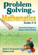Problem Solving in Mathematics  Grades 3 6