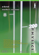 O level Physics Teacher s Reference  Yellowreef