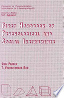 First Handbook of Psychological and Social Instruments