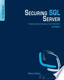 Securing SQL Server Book