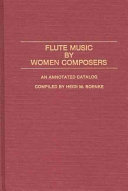 Flute Music by Women Composers