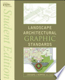 Landscape Architectural Graphic Standards PDF