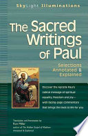 The Sacred Writings Of Paul