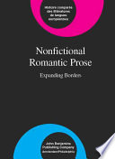 Nonfictional Romantic Prose