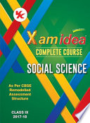 Xam idea Complete Course Social Science - Class 9