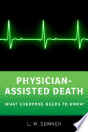 Physician Assisted Death