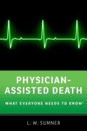 Physician-Assisted Death Pdf/ePub eBook