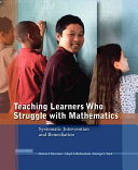 Teaching Learners Who Struggle With Mathematics Book PDF