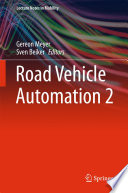 Road Vehicle Automation 2