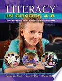 Literacy in Grades 4-8
