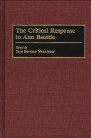 The Critical Response to Ann Beattie