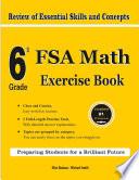 6th Grade FSA Math Exercise Book