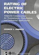 Rating Of Electric Power Cables Book PDF