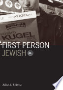 First Person Jewish