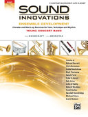 Sound Innovations for Concert Band: Ensemble Development for Young Band - Baritone Saxophone/Alto Clarinet
