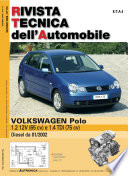 Manuale di riparazione meccanica Volkswagen Polo 1.2 12V benzina e 1.4 TDI - RTA172