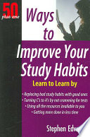 50 Plus One Ways to Improve Your Study Habits