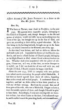 A Short Account Of Mr John Pawson In A Letter To The Rev Mr John Wesley With A Portrait