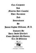 Ezra Carpenter and Minerva Date Coombs: their ancestors and ...