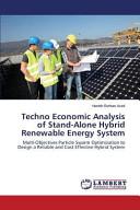 Techno Economic Analysis of Stand Alone Hybrid Renewable Energy System