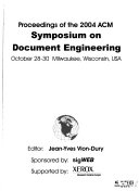 Proceedings Of The Acm Symposium On Document Engineering