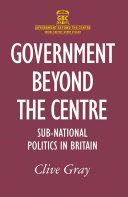 Government Beyond the Centre Pdf/ePub eBook