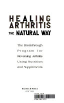 Healing Arthritis the Natural Way