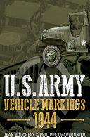 U.S. Army Vehicle Markings 1944