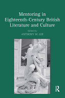 Pdf Mentoring in Eighteenth-Century British Literature and Culture Telecharger