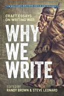 Why We Write Book