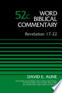 Revelation 17 22 Volume 52c