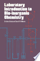 Laboratory Introduction to Bio-inorganic Chemistry