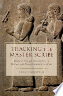 Tracking the Master Scribe
