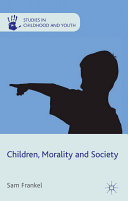 Children  Morality and Society