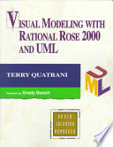 Cover of Visual Modeling with Rational Rose 2000 and UML