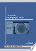Advances In Very High Cycle Fatigue Book PDF