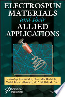 Electrospun Materials And Their Allied Applications Book PDF