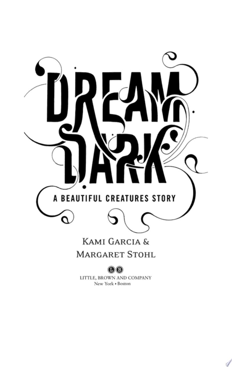 Dream Dark: A Beautiful Creatures Story banner backdrop
