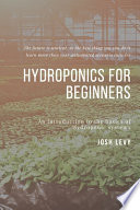 Hydroponics For Beginners
