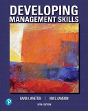 Developing Management Skills Mylab Management With Pearson Etext Access Card