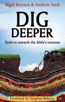 Dig Deeper (Ivp New Testament Commentaries)