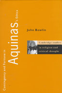 Pdf Contingency and Fortune in Aquinas's Ethics