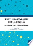 Guanxi in Contemporary Chinese Business
