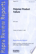 Polymer Product Failure Book