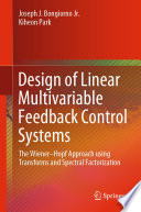 Design Of Linear Multivariable Feedback Control Systems Book PDF