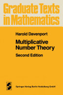 Multiplicative Number Theory [Pdf/ePub] eBook