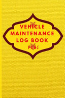 Vehicle Maintenance Log Book Plus