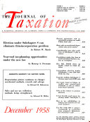 The Journal of Taxation