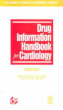 Drug Information Handbook for Cardiology Book