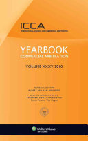 Yearbook Commercial Arbitration Volume Xxxv 2010  Crc  Rev